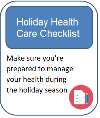 Holiday Season Checklist for Patients